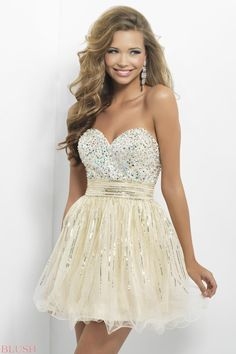 Homecoming dresses by Blush Prom Homecoming Style 9665 on Wanelo
