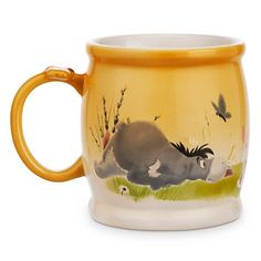 Disney Winnie the Pooh and Pals Watercolor Mug >>> Be sure to check out this helpful article. #CoffeeMug