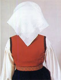 Hello all, Today I will cover the last province of Norway, Hordaland. This is one of the great centers of Norwegian folk costume, hav. Folk Costume, Costumes, Folk Clothing, Traditional Outfits, Norway, Bell Sleeve Top, Ruffle Blouse, Embroidery, Clothes