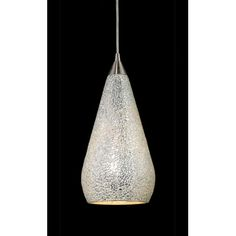 Found it at Wayfair - Curvalo 1 Light Mini Pendant