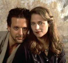Mickey Rourke and Charlotte Rampling --Angel Heart