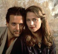Mickey Rourke and Charlotte Rampling --Angel Heart
