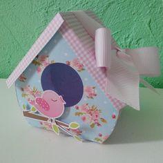 Caixa casinha de passarinho