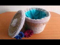 Making Wicker Basket Cardboard Crafts, Crochet Patterns For Beginners, Plastic Bottles, Wicker Baskets, Decorative Bowls, Diy And Crafts, Burlap, Bottle Box, How To Make