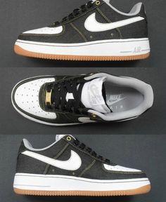 "Nike Air Force 1 Low ""Black Denim"" (First Look)"