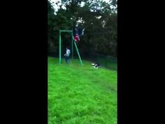 zip wire syncronized fail. They must have practice this