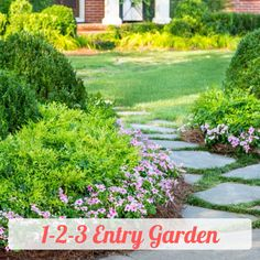 Plant combinations: A Warm and Welcoming Entry Plant Design, Garden Design, Amazing Gardens, Beautiful Gardens, Lemon Lime Nandina, Foundation Planting, Evergreen Shrubs, Companion Planting, Diy Garden Decor
