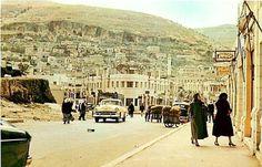 نابلس، فلسطين ١٩٥٧