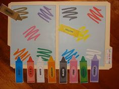 file folder games..did these at my last job and they were great!