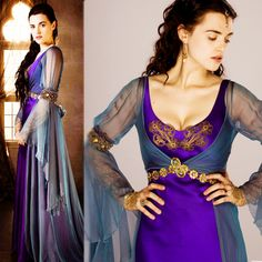 She was such an awesome character in Merlin. And I always adored her dresses!