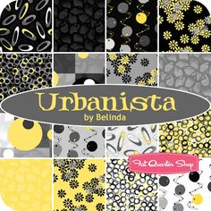 Urbanista - The colors of my office.  Would love to use this fabric to make a miniature banner to put across my file cabinets.