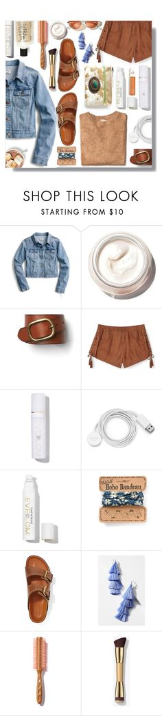 """Baby Vamos!"" by peony-and-python ❤ liked on Polyvore featuring J.Crew, Bobbi Brown Cosmetics, Gap, Rebecca Minkoff, Eve Lom, FOSSIL, Natural Life, Isabel Marant, Deepa Gurnani and vintage"