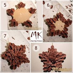 Holiday crafts diy seasons pine cones new Ideas Outside Christmas Decorations, Pine Cone Decorations, Christmas Crafts For Kids, Holiday Crafts, Christmas Ideas, Pine Cone Art, Pine Cone Crafts, Pine Cones, Pinecone Ornaments