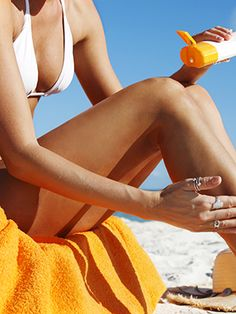 Apply sunscreen like a pro.