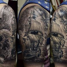 ship tattoo                                                                                                                                                      More