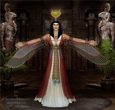 isis, goddess of magic