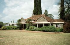 """""""I had a farm in Africa at the foot of the Ngong Hills. """" Karen Blixen House Museum, Kenya."""