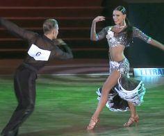 Yaroslav Galay / Kateryna Klishyna - World Youth Latin Final 2011    Love this dress! http://www.youtube.com/watch?v=yTsq0GHJjAg