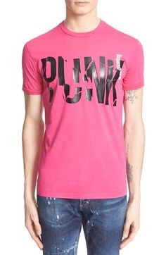 Dsquared2 'Punk' Graphic Cotton T-Shirt available at #Nordstrom