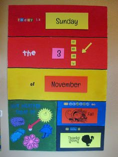 Made this preschool calendar board this weekend. Excited to start using it in our preschool homeschool!