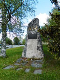 Memorial JR 58, 1941-1944. Jalasjärvi Finland.