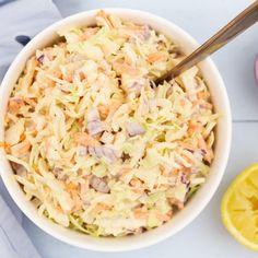 Coleslaw Coleslaw, Om, Cabbage, Vegetables, Salads, Coleslaw Salad, Cabbages, Vegetable Recipes, Cabbage Salad