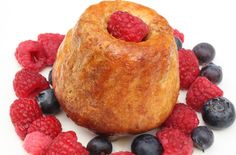 Vanilla rum babas with fresh berries and chantilly cream recipe - goodtoknow