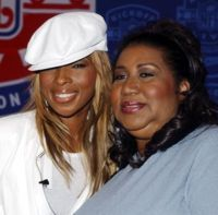 Aretha Franklin with Mary J. Blige #ArethaSings