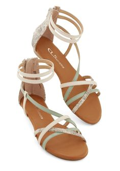 bc273ac4c7cf46 Guest of Honor A-Line Dress. Strappy SandalsCute SandalsShoes ...