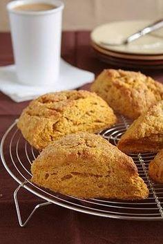 Thanksgiving Recipes : Pumpkin Spice Scones Recipe