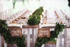 Love this! Outdoor reception idea designed for our couple.