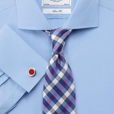 Blue Dress Shirt by Charles Tyrwhitt. Buy for $140 from Charles Tyrwhitt