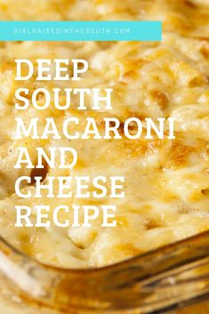 I found this gem in a box of recipes and old cookbooks I'd bought a few years ago in an estate auction.I hit the jackpot with this Deep South Macaroni and Cheese Recipe! All sorts of southern goodness laying in that box! Best Macaroni And Cheese, Making Mac And Cheese, Macaroni Cheese Recipes, Baked Macaroni, Restaurant Mac And Cheese Recipe, Southern Macaroni And Cheese, Homemade Macaroni Cheese, Macaroni Salad, Mac N Cheese Recipe Southern