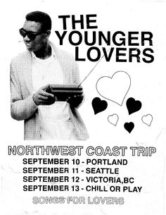 Flyer - SOngs for lovers