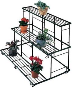 Straight Plant Terrace may no longer be offered by Gardeners Supply - Kids Room ıdeas Tiered Plant Stand Indoor, Outdoor Metal Plant Stands, Wood Plant Stand, Garden Stand, Plant Supports, Bottle Garden, Plant Shelves, Diy Décoration, Indoor Plants