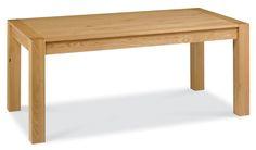 Brand New Lyon Oak Solid Wood Large End Extending Table 180 Cm Modern Furniture   eBay