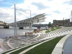 Outstanding Achievement Award for freestanding structures < sq.m: Mark's Park Amphitheatre