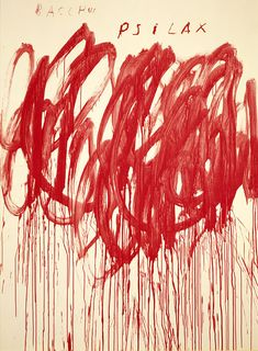 Cy Twombly 2005 untitled