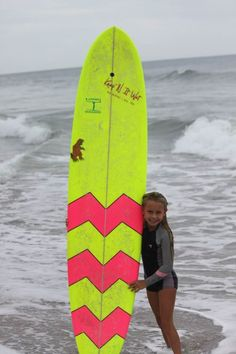 This little wahine can handle any Long Board- Surf Team Rider Bree Smith
