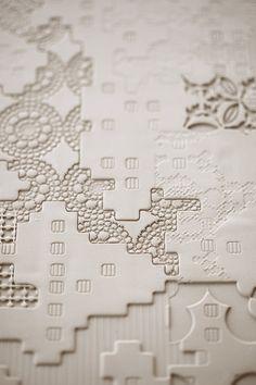 bas relief tiles
