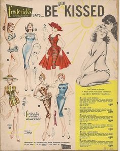 Frederick's of Hollywood catalog (1959)