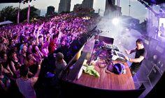 The Movement festival in Detroit. Photograph: MediaPunch/REX