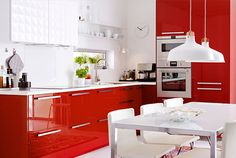 For a splash of colour and vibrancy for your kitchen that you could gown up the cabinets by using including adorable decorations and vibrant plates round your kitchen.