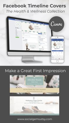 4 Health Facebook Cover Photo Template, Facebook Timeline Covers, Facebook Profile Photo, For Facebook, Graphic Design Tools, Tool Design, Instagram Highlight Icons, Facebook Marketing, Banner Template