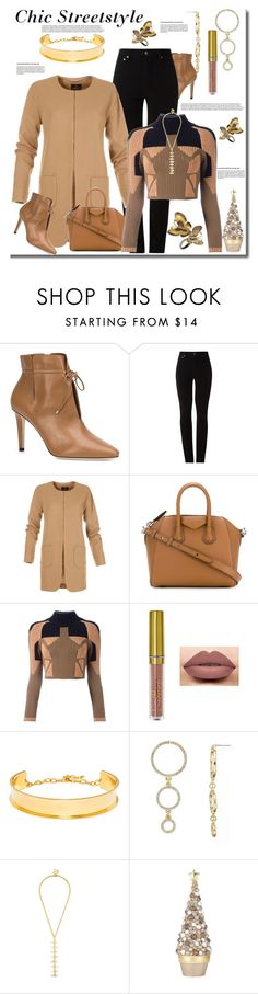 """Chic Streetstyle on Friday"" by helenaymangual ❤ liked on Polyvore featuring Jimmy Choo, Amapô, Givenchy, adidas Originals, LASplash, BaubleBar, Dekorasyon and Annoushka"