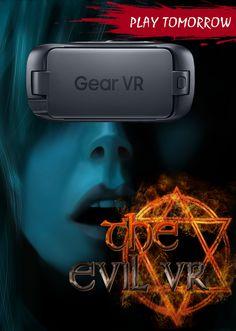 #EVILVR goes @GearVR @oculus. #PLAY tomorrow. #GearVR #GoogleDaydream #Oculus #VRhorror #VR #indiedev #GalaxyS8 #indie #gaming #indiegame