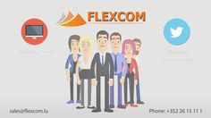Animationsbeispiel für Unternehmen im Comic Style