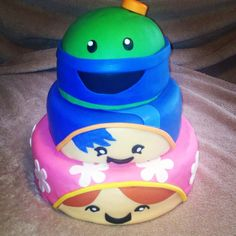 Team Umizoomi cake made by Tannicakes on FB