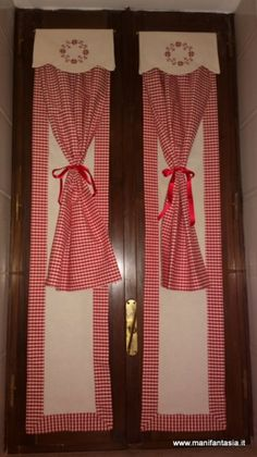 Tende country per la cucina | Projects to Try | Pinterest | Window ...