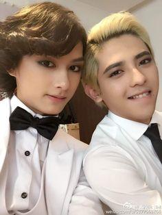 Intouchable cast ( JA and Jun - Seventeen) Seventeen Jun, Wen Junhui, Mingyu, Boy Groups, It Cast, People, Kpop Boy, Diamonds, Diamond